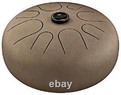 MEINL STD1VB Steel Tongue Drum A-Moll, brown