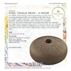 MEINL Sonic Energy Steel Tongue Drum A-Moll STD1VB