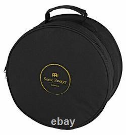 Meinl Sonic Energy STD1VB Steel Tongue Drum A-Moll Gummi-Schlegel Tasche Braun