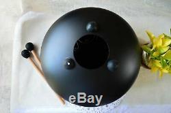 New Design 12In Steel Tongue Drum Handpan Musical Meditation Drum WithTravel Bag