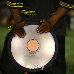 Pro Handpan Percussion Instrument Steel Tongue Drum Tank Drum Sets Premium NEW