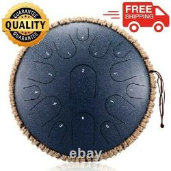 Professional 13 Inch 15 Tone High Quality Handheld Steel Tongue Drum Instrument