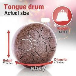 Professional mini steel tongue percussion drum, hand pan, hand drum, tongue drum