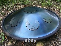 RAV Vast B Golden arcadia Handpan Steel Tongue Drum Tank Drum Space Hand Pan