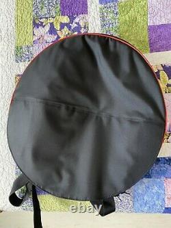 RAV Vast D Celtic Minor Handpan, Steel Tongue Drum. Handmade. CASE INCLUDED