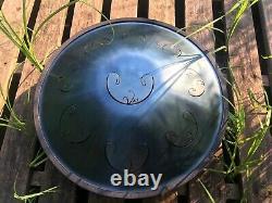 RAV Vast D Major Handpan Steel Tongue Drum Tank Drum Space Hand Pan HandMade