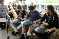 RAV Vast Drum. C Golden Gate, Steel Tongue Drum. Hand made