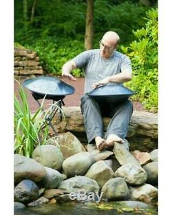 RAV Vast Drum. G Pygmy Handpan, Steel Tongue Drum. Hand made