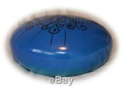 READY NOW double sided steel tongue drum 12'' handpan hank or tank