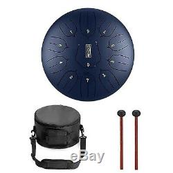 RUNMIND 12 Inch Steel Tongue Drum Handpan Hand Drums Major 11 Notes Tankdrum