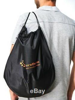 STEEL TONGUE DRUM 13 (handpan, tank drum, pan drum) + Free bag and mallets