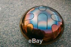 STEEL TONGUE DRUM Handpan for Meditation Singing Bowl Tank Hank GIFT