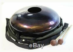 SUN FLOWER 12 Steel Tongue drum (tank drum, handpan, hand pan, hank drum)