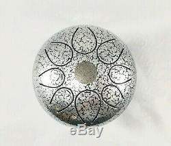 Steel Tongue Drum 10 Inch 8 Note Percussion Instrument Handpan Drum WithBag & CD