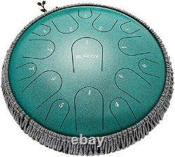 Steel Tongue Drum 15 Notes-13 Tank Drum With Bag, Mallets, & Acc. Superior Quality