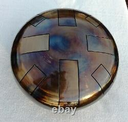 Steel Tongue Drum, D Celtic minor, 12, 432hz, Hand Made, READY NOW