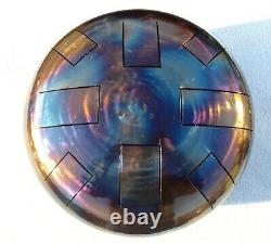 Steel Tongue Drum, E Celtic minor, 12, 440hz, Hand Made, READY NOW