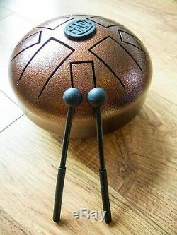 Steel Tongue Drum HAPI mini in D Akebono