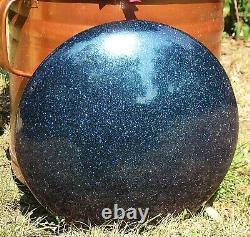 Steel Tongue Drum, Handpan, EDELSTAHL ST Vibedrum-B 9 Töne D-Moll-432 Hz