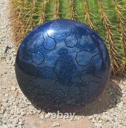Steel Tongue Drum, Handpan, EDELSTAHL Stardust Mini-Vibe 8 Töne-25 cm-Galaxy