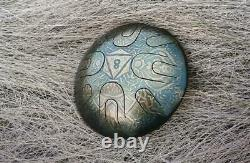 Steel Tongue Drum Handpan Vajra Sound Healing Meditation for Traveler Ø 240 mm