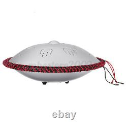 Steel Tongue Drum Tank Drum 9Notes 15. 7Inch Percussion Instrument Hand Pan Drum