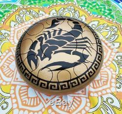 Steel Tongue Drum Trommel HandPan Drum Ethno Meditation Hand Pan Stahl