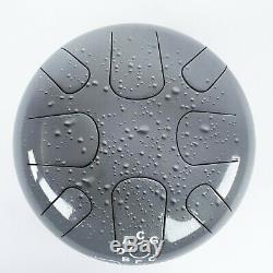 Steel Tongue Drum in Diatonic Yoga Handpan Tankdrum Happy Hand Pan Hank AM Zen