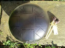 Steel Tongue Drum in Purple Midnight D Akebono Scale