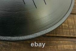 Steel Tongue Hand Pan Drum Hank Tank Ethno Percussion Instrument Ø 360 mm