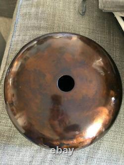Steel Tongue Tank Hand Drum 12 Handmade Stunning Bronze Finish Beautiful Sound