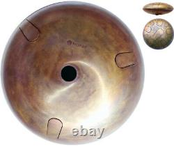 Steel Tongue drum 40 sm (16 inch), 11+3 tongues, Ambient sound, 4 kg (10 lbs)