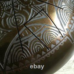 Steel tongue drum 40 cm Glucophone Handsofworld
