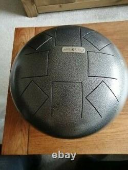 Steel tongue drum percussion musical instrument handpans