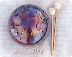 Tank drum steel tongue drum hand pan