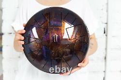 Tank drum steel tongue handpan, Bm GRANDIS, 30cm ethno folk