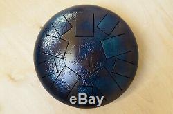 Tank drum steel tongue handpan, Gm Magic, 30cm ethno folk