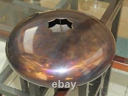 Tank drum steel tongue handpan, minor penta, 20cm 2,5 kg, 8 notes ethno folk