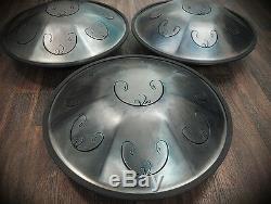 Tongue Hand Pan / RAV Vast 2 / B Celtic Minor / (in case) Steel Hand Drum Tank