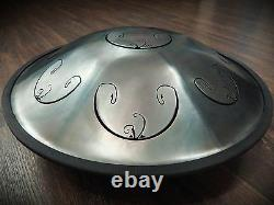 Tongue Hand Pan / RAV Vast 2 / D Major / (in case) SteelDrum Tank drum