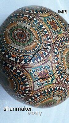 Tongue drum/Handpan/steel drum, indian rangoli art designed10 amazing resonance