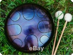 Tunable! 9inch steel tongue drum/ Tank Drum