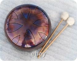 Tunable 9inch steel tongue drum/ Tank Drum