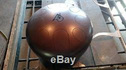 USA Made Double-Sided Manastone Steel Tongue Drum Eb Hijaz & F Big Bear Scales