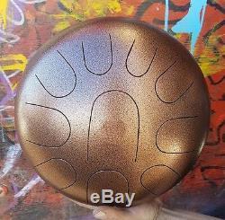 USA Made Kurd 10, ManaStone, Steel tongue drum, handpan, hank, tankdrum, 12