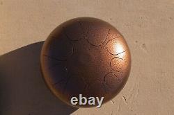 USA Made Manastone Floating Steel Tongue Drum Eb African N'goni Scale, Handpan