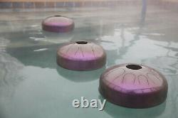 USA Made Manastone Floating Steel Tongue Drum Musical Pool Toy Eb Melog Scale