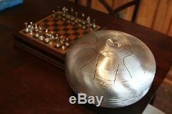 USA Made Manastone Steel Tongue Drum Aeolian 10-note Scale, Handpan, Tank Drum