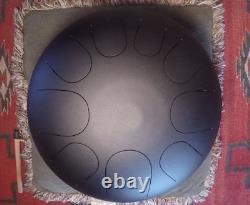 USA Made Manastone Steel Tongue Drum E Mixotonic Scale handpan tankdrum 12