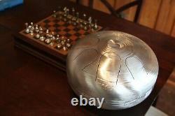 USA Made Manastone Steel Tongue Drum Indonesian Gamelan Eb Melog Scale Gold